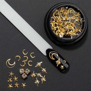 Set decoratiuni unghii 3D Crystallized Constellation