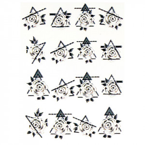Tatuaj 3D Unghii LUXORISE 1007-41