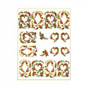 Tatuaj 3D Unghii LUXORISE 1009-37