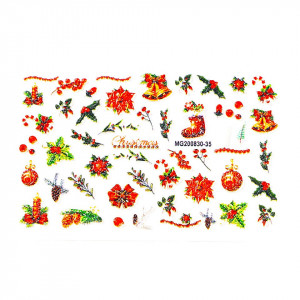 Tatuaj 3D Unghii LUXORISE Winter MG200830-35