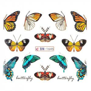 Tatuaj unghii LUXORISE, Butterfly BN-1645