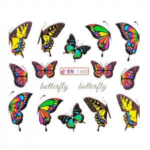 Tatuaj unghii LUXORISE, Butterfly BN-1650