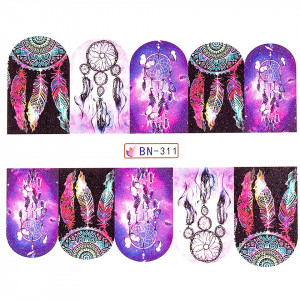 Tatuaj unghii LUXORISE, Dream Catcher BN-311