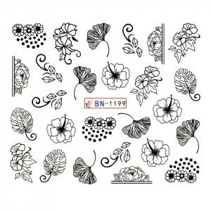 Tatuaj unghii LUXORISE, Fantasy BN-1199