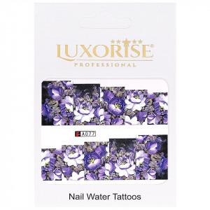 Tatuaj unghii LUXORISE, Nature A077