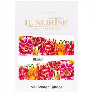 Tatuaj unghii LUXORISE, Nature A846