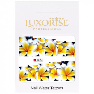 Tatuaj unghii LUXORISE, Nature A874