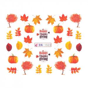 Tatuaj unghii SensoPRO Autumn Challenge, model BN-1522