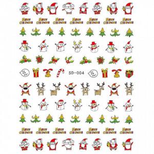Abtibild unghii SD-004 Jingle Bells