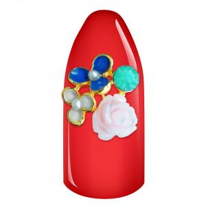 Decoratiune Unghii 3D - Buchet Flori 01