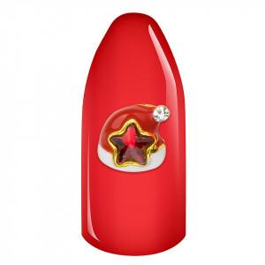Decoratiune Unghii 3D - Santa Hat #01