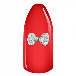 Decoratiune Unghii 3D - Snow White Bow