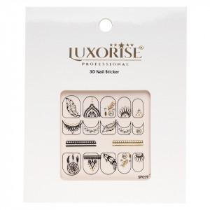 Folie Sticker 3D unghii LUXORISE- SP059