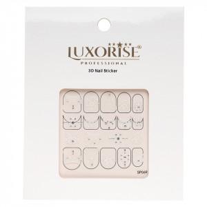 Folie Sticker 3D unghii LUXORISE- SP069