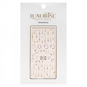 Folie Sticker 3D unghii LUXORISE- SP105