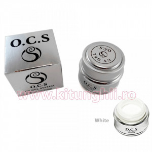 Gel UV OCS 14 gr Alb - White French