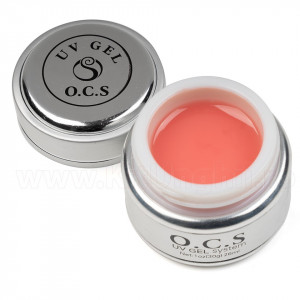 Gel UV OCS Large 28 gr Cover Pink - Roz Camuflaj