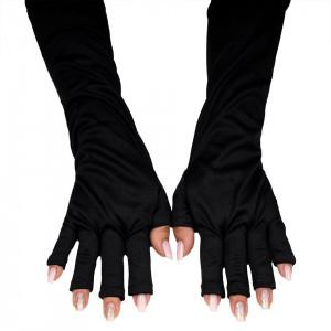 Manusi Manichiura Protectie UV, Negru