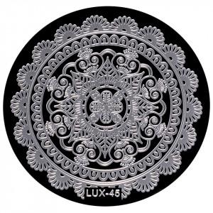 Matrita Metalica Stampila Unghii LUX-45 - Mandala
