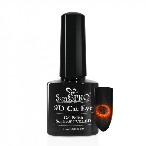 Oja Semipermanenta 9D Cat Eye #17 Tucani - SensoPRO 10 ml