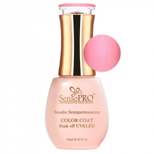 Oja Semipermanenta SensoPRO 15ml culoare Roz pal - 039 Pearly Peach