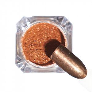 Pigment unghii Chrome #111 cu aplicator - LUXORISE