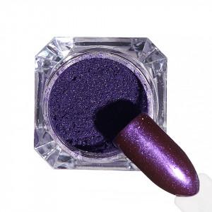 Pigment unghii Chrome #34 cu aplicator - LUXORISE