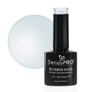 Rubber Base Gel SensoPRO Milano 10ml, #36 Ice Blue