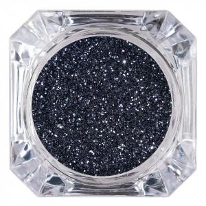 Sclipici Glitter Unghii Pulbere LUXORISE, Dark Grey #05