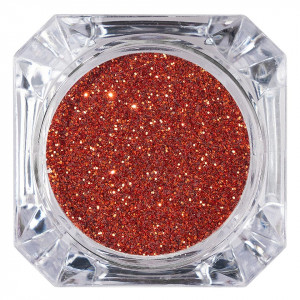 Sclipici Glitter Unghii Pulbere LUXORISE, Orange Red #32