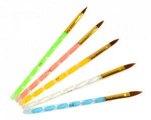 Set 5 Pensule Manichiura Acryl