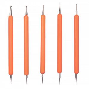 Set 5 Punctatoare pentru Unghii The Orange Five, calitate premium