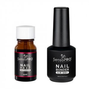 Set Nail Prep Dehydrator + Nail Bonder Primer SensoPRO Milano