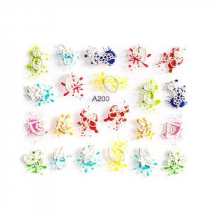Sticker 3D Unghii LUXORISE Artistry A200