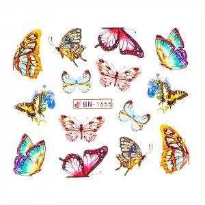 Tatuaj unghii LUXORISE, Butterfly BN-1655