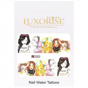 Tatuaj unghii LUXORISE, Fashion A889