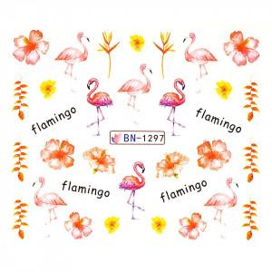 Tatuaj unghii LUXORISE, Flamingo BN-1297