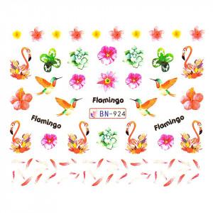 Tatuaj unghii LUXORISE, Flamingo BN-924