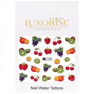 Tatuaj unghii LUXORISE, Fruits A1395