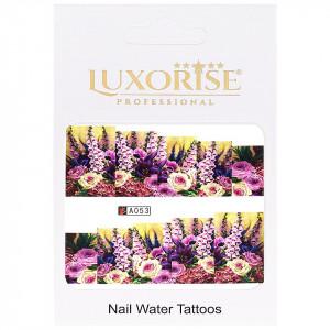 Tatuaj unghii LUXORISE, Nature A053
