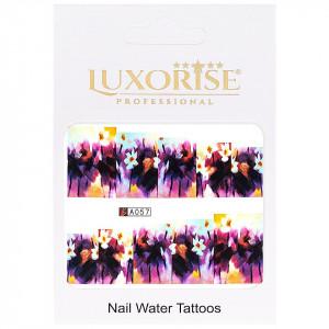 Tatuaj unghii LUXORISE, Nature A057