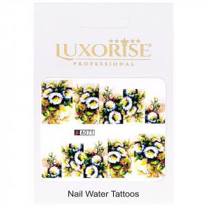 Tatuaj unghii LUXORISE, Nature A071