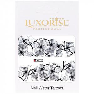 Tatuaj unghii LUXORISE, Nature A078
