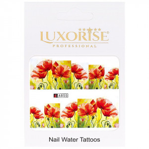 Tatuaj unghii LUXORISE, Nature A855