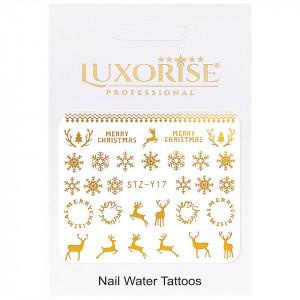 Tatuaj unghii LUXORISE, Winter STZ-Y17