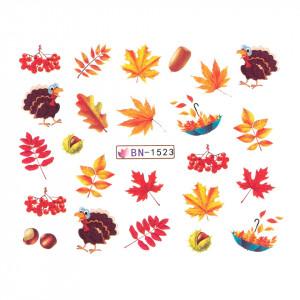 Tatuaj unghii SensoPRO Autumn Challenge, model BN-1523