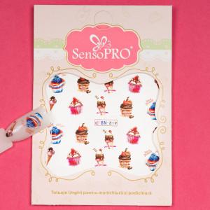 Tatuaj unghii SensoPRO Summer Challenge BN-819