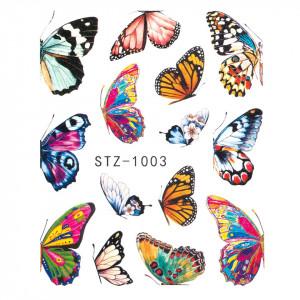 Tatuaj unghii SensoPRO Summer Challenge, model STZ-1003
