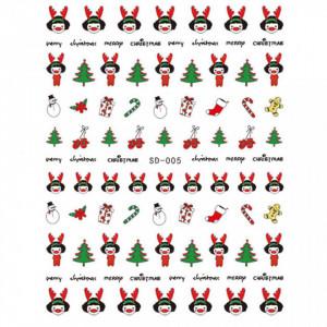 Abtibild unghii SD-005 Jingle Bells