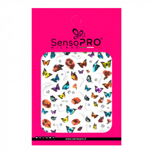 Abtibilduri unghii SensoPRO Milano Butterfly, model DP160